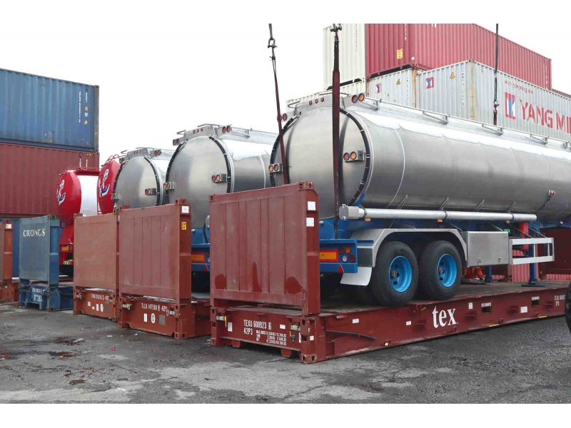 Flat rack,40 ft container,container,logistics
